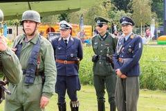 Актеры WWII Стоковая Фотография RF