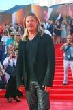 Актер Брэд Питт на фестивале фильмов Москвы Стоковые Фотографии RF