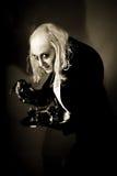 актер играя импровизацию raff Стоковая Фотография