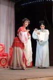 Актер и актриса, тишины тайваньской оперы jinyuliangyuan стоковое изображение rf
