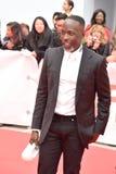 Актер и производитель Майкл Кеннет Вильям на премьере ` общественное ` стоковая фотография