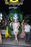 Актер тайской выставки трансвестита Стоковое Изображение