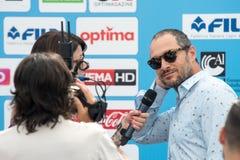 Актер Claudio Santa Maria Стоковые Изображения RF