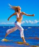 активная девушка Стоковая Фотография RF