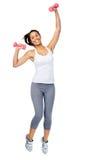 Активная женщина гимнастики Стоковое фото RF