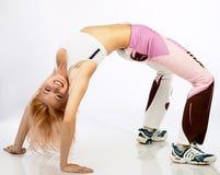 активная женщина Стоковая Фотография