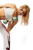 активная женщина Стоковые Фото