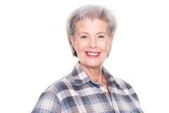 активная старшая женщина Стоковое Изображение RF