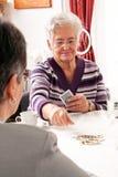активные старшии их Стоковое Фото