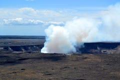 активный вулкан Стоковое Изображение