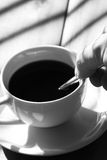 Активный кофе b Стоковое фото RF