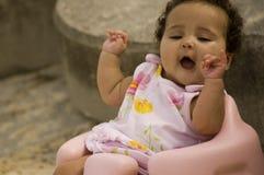 активный младенец Стоковое Изображение