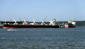 Активный морской порт стоковое фото rf