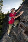 активный старший hiker Стоковое Фото