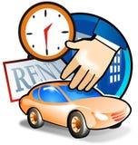 активный экстренныйый выпуск ренты автомобиля Стоковые Фото