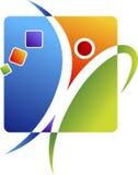 активный людской логос Стоковое Фото