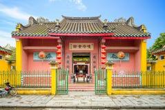 Актовый зал конгрегации китайца Хайнаня Стоковые Фото