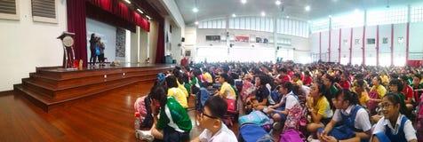 Актовый зал школы стоковое фото rf