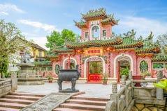 Актовый зал Phuc Kien Фуцзяня, Hoi, Вьетнам Стоковое Фото