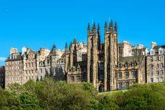 Актовый зал, Эдинбург, Шотландия Стоковые Изображения