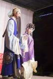Актриса второго плана и актер, тишины тайваньской оперы jinyuliangyuan стоковое фото