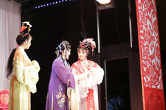Актрисы второго плана, тишины тайваньской оперы jinyuliangyuan стоковое изображение