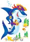 акула пирата Стоковые Фото