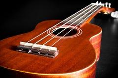 Акустическая гитара Гаваи гавайской гитары Стоковые Изображения RF