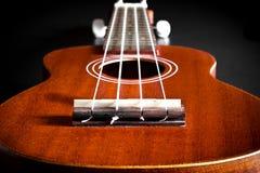Акустическая гитара Гаваи гавайской гитары Стоковая Фотография