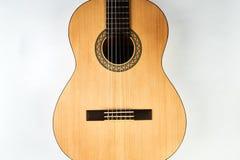 Акустическая гитара с строками нейлона Стоковое Фото