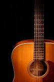 акустическая гитара Стоковая Фотография