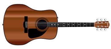 акустическая гитара Стоковое Изображение