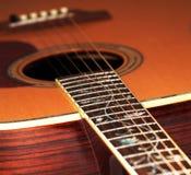 акустическая классицистическая гитара Стоковые Изображения RF