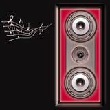акустическая система дикторов Стоковая Фотография RF