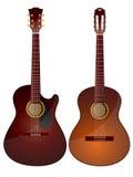 акустические гитары Стоковое фото RF
