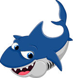 Акула шаржа Стоковое Фото