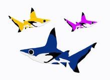 Акулы рифа Стоковые Изображения RF