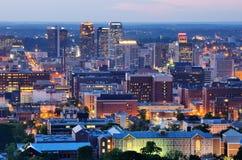 Алабама birmingham городской стоковое изображение