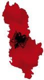 Албания иллюстрация штока
