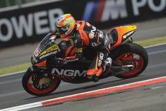Алекс de angelais, moto 2, 2012 Стоковые Фото
