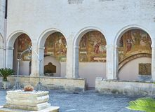 ` Алессандрия Базилики di Санты Caterina d Galatina, Apulia, Италия Стоковая Фотография RF