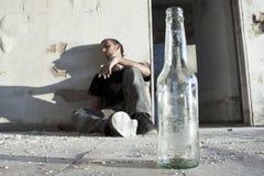 алкоголичка Стоковые Фото