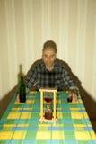 алкоголичка Стоковые Изображения RF
