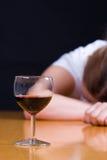 алкоголичка Стоковая Фотография