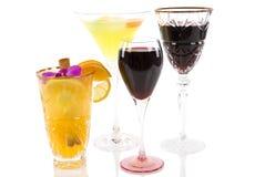 алкогольные напитки Стоковая Фотография RF