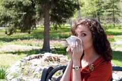 аллергия стоковые фотографии rf