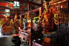 Алтары к Конфуцию и его ученикам стоковые изображения rf