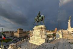 Алтар отечества - Рим, Италия стоковое изображение