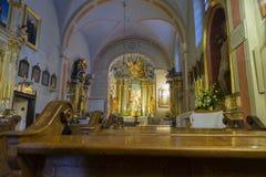 Алтар от церков Sts Иоанн Креститель и Джон евангелист стоковые изображения
