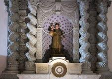 Алтар Святого Антония Падуи, ` Алессандрии Базилики di Санты Caterina d, Galatina, Италии Стоковые Фото